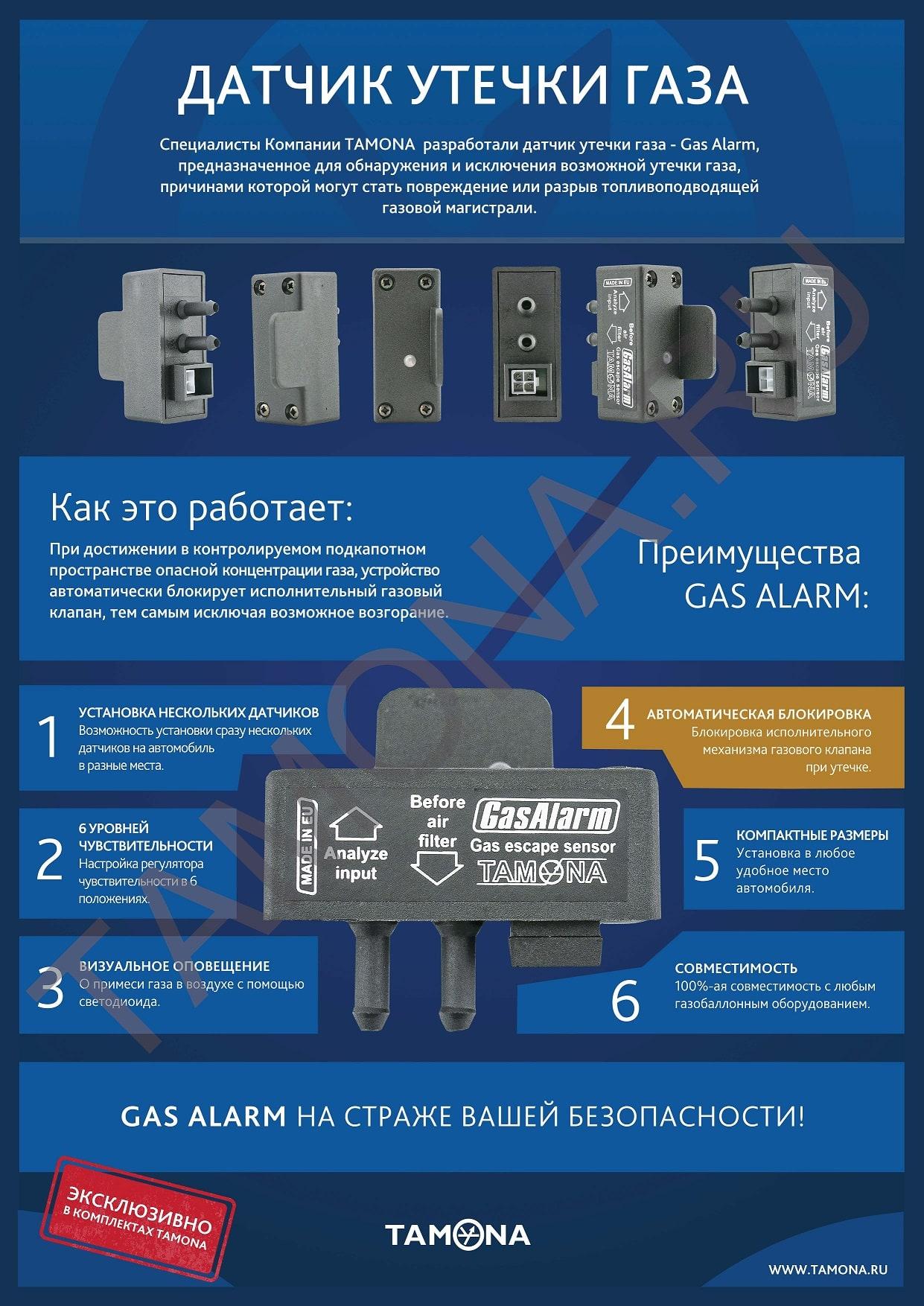 датчик утечки газа Gas Alarm